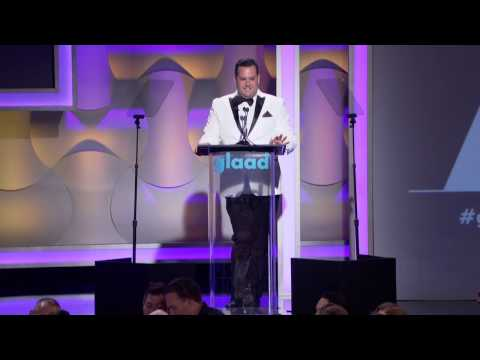 Ross Mathews opens the #glaadawards in Los Angeles