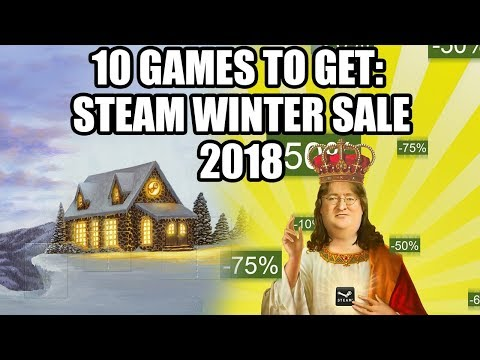 10 Games to Get on the Steam Winter Sale 2018 - Under 20 USD