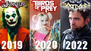 All DC Films After Aquaman & Shazam! - Robert Pattinson New Batman Movie