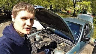 BMW E46 замена зеркала, стоек, тормозной жидкости...