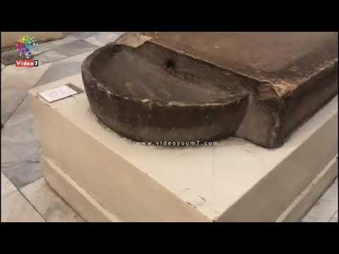 على طريقة برايل .. شاهد .. المسار الخاص للمكفوفين بالمتحف المصرى