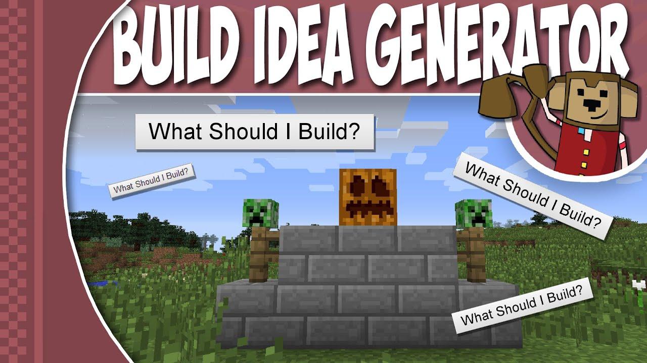 Minecraft Tutorial - Build Idea Generator ! ! !