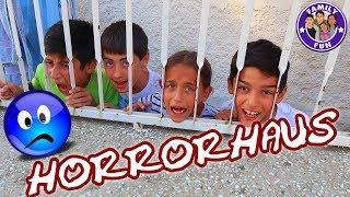 HAUSTOUR LOST PLACE HORRORHAUS - unser verlassenes Haus - Family Fun