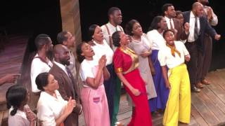 "Cast of Broadway's ""The Color Purple"" Pays Tribute to Prince"