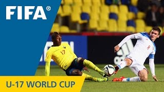Highlights: Russia v. Ecuador - FIFA U17 World Cup Chile 2015