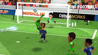 Mini Football derby Italy with 2 bicycle kick and head goal