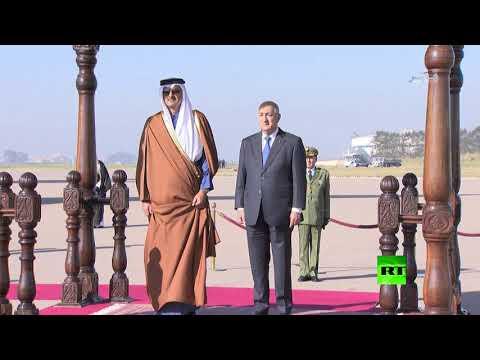 شاهد لحظة استقبال الرئيس الجزائري عبد المجيد تبون لأمير قطر الشيخ تميم بن حمد آل ثاني  - نشر قبل 2 ساعة
