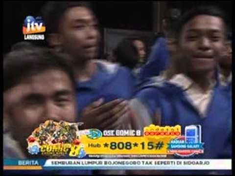 MAHAGITA Big Band - Aku Mau Lagi (LOVINA AG) Live stasiun dangdutApril 2016