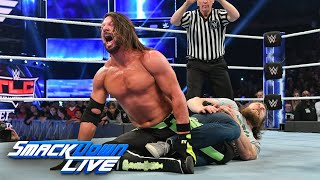 HINDI - The new Daniel Bryan decimates AJ Styles: SmackDown LIVE, 4 December, 2018