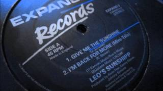 Leo`s Sunshipp  - Give me the sunshine. 1980  (Soul/Rare Groove)
