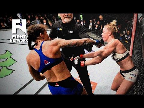 UFC 208: Fouls in Holly Holm vs. Germaine de Randamie