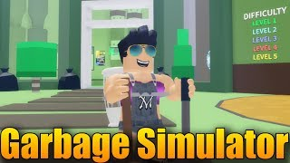 YOUTUBE I DO NOT DO SO, I'm going to DO the TRASH MEN! 😥 | ROBLOX: Garbage Simulator