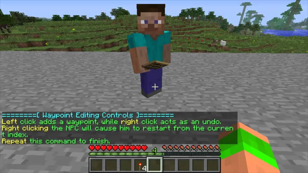 Minecraft Bukkit Plugin - Citizens - Create NPCs in minecraft - Talking and  walking NPCs!