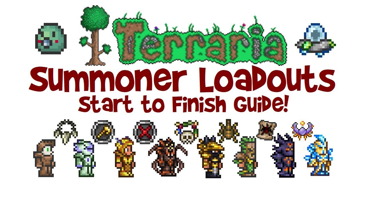 Terraria Summoner Loadout Guide Weapons Armor Class Build 1 2 4 1 3 Youtube