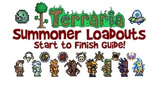 Terraria Summoner Loadout Guide (Weapons & Armor, Class Build, 1.2.4 & 1.3)