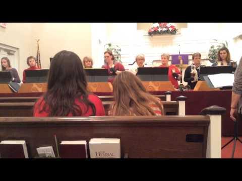 FBC Stantonsburg Handbell Choir Christmas 2013