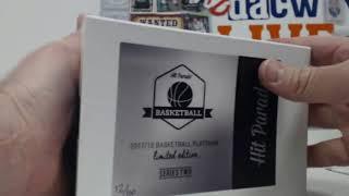 2017/18 Hit Parade Basketball Platinum Ser.10 Box Case - DACW Live 10 Spot Random Hit Break #1