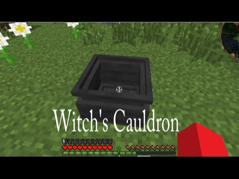 how to get witches cauldron witchery 1.7.20