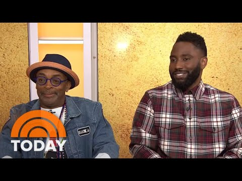 Spike Lee And John David Washington Talk About Filming ...