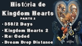 História da Saga Kingdom Hearts - Parte 2: Resumo de 358/2 Days, KH2, Re:Coded e KH3D
