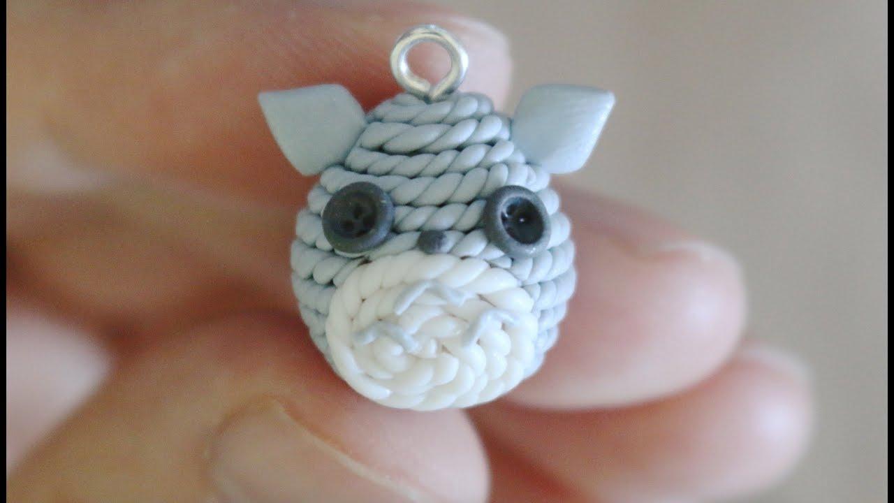 Amigurumi Totoro : Amigurumi totoro polymer clay tutorial youtube