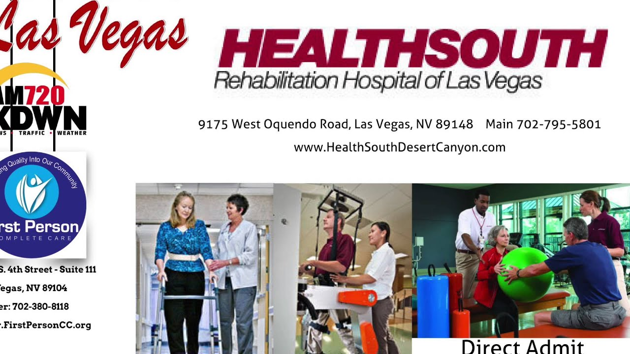 Healthsouth physical therapy - Healthy Las Vegas Show 19 Health South Rehab Programs