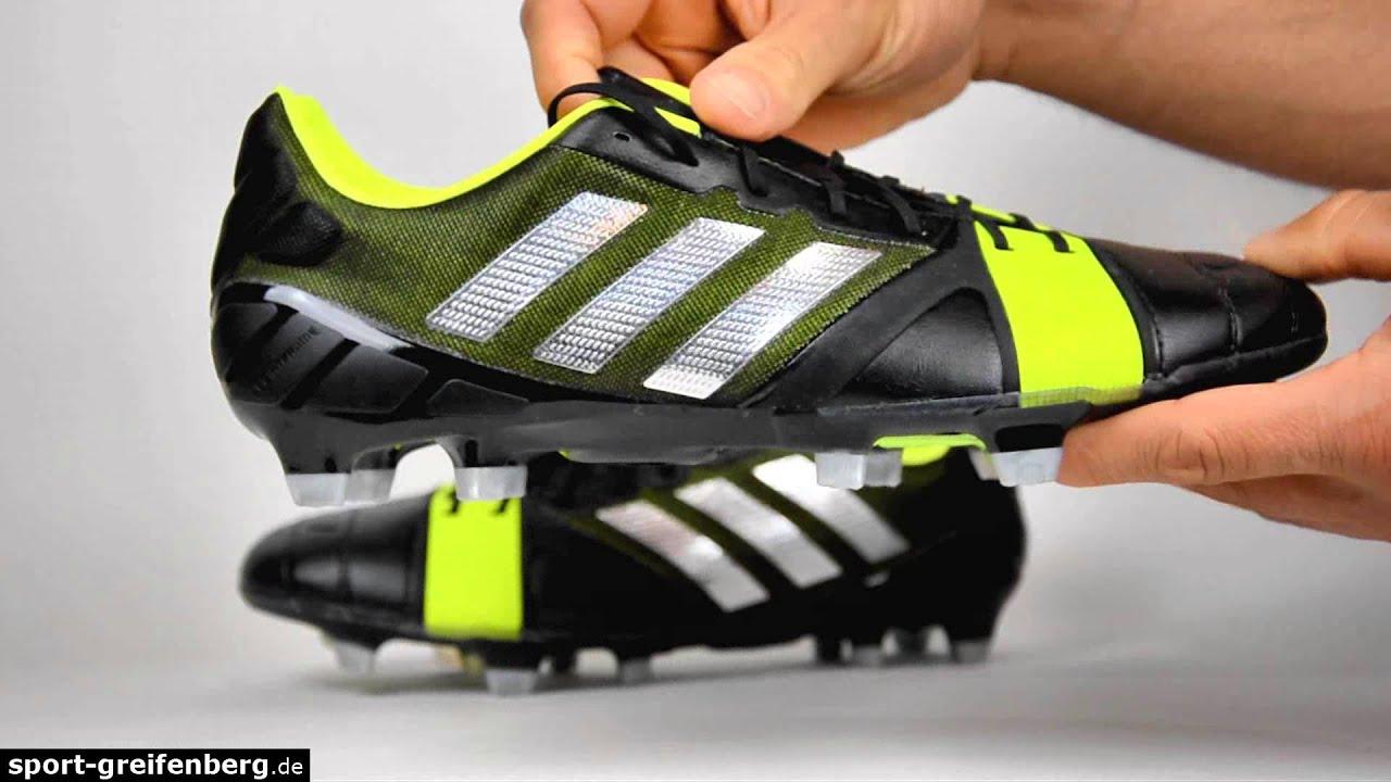 online store 8bcf2 63db5 Adidas Nitrocharge 1.0 TRX FG black Fußballschuhe