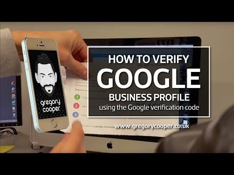 How to VERIFY GOOGLE MY BUSINESS PAGE - 3 Simple Steps - Register Page - Receive Letter - Enter Code