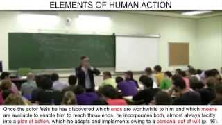 Day 3 (video 2) - Elements of human action: act of will