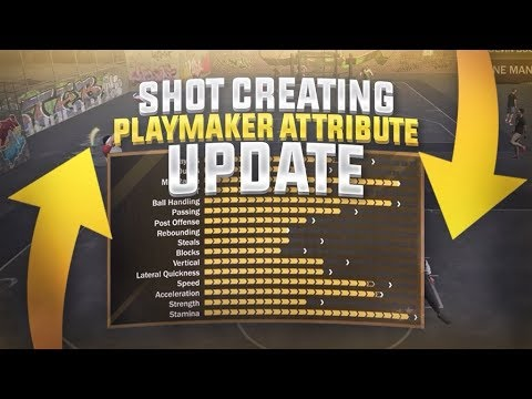 Nba 2k18 6'6 Shot Creator Playmaker Attribute Update