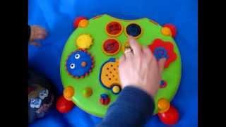 Двусторонний развивающий центр Tiny Love (Тайни Лав)(Одна из самых любимых игрушек сына, когда он был поменьше. Очень добротный крепкий яркий центр с морем функц..., 2013-02-15T10:53:40.000Z)
