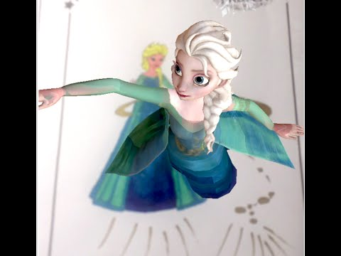 Disney Frozen Elsa Color In 4d Colorcraze 4d Printable
