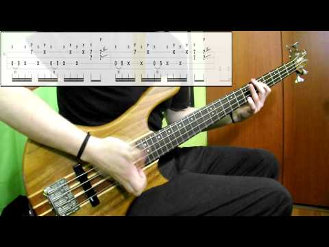 Mudvayne - Death Blooms (Bass Cover) (Play Along Tabs In Video) mp3
