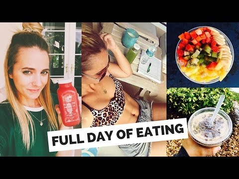 FULL DAY OF EATING - CLEAN WHOLE FOODS