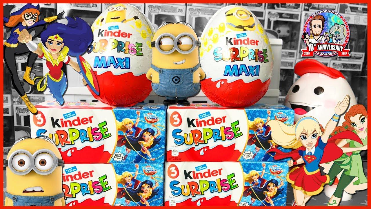 Ouverture kinder surprise dc super hero girl moi moche et mechant 3 youtube - Lego moi moche et mechant ...