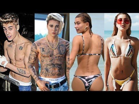 Justin Bieber vs Hailey Bieber Transformation ★ 2019. http://bit.ly/2WkeeRs