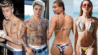 Justin Bieber vs Hailey Bieber Transformation ★ 2019