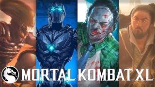 Mortal Kombat X: All Kombat Pack 2 Character Arcade Endings!
