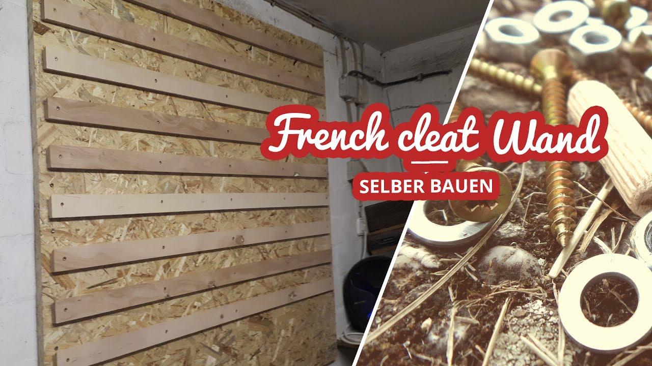French Cleat Wand selbst gebaut Artikelbild