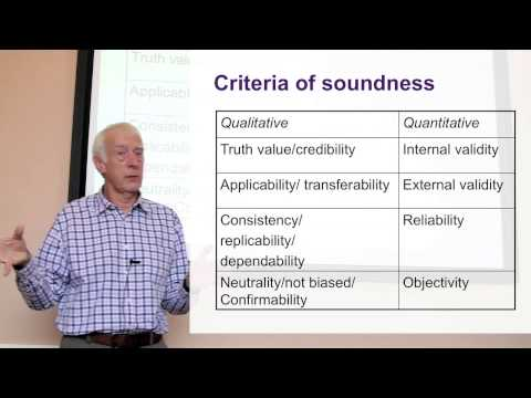 The Quality of Qualitative Research. Part 2 of 3 on Research Quality and the Research Process