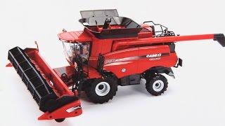 8230 Case IH Combine Agroculture / Kombajn Agroculture 8230 Case IH - Britains - Tomy