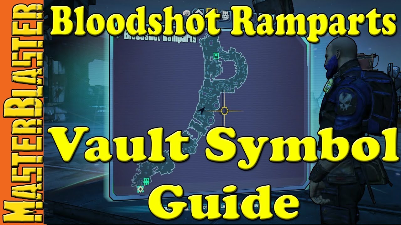 Borderlands 2 Bloodshot Ramparts Cult Of The Vault Symbol Challenge