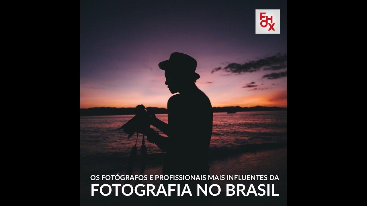 Os fotógrafos e profissionais mais influentes da fotografia no Brasil