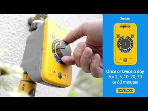 2212 Hozelock Jardín Controlador Sensor de luz del día Sistema de Agua Automático