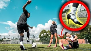 DANGEROUS HIGH HEEL CROSSBAR CHALLENGE! *HIGH RISK*