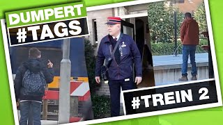 Choo choo! De allerlaatste Dumpert Tags is gearriveerd! #TREIN (2) | Dumpert Tags