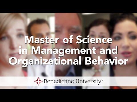 Master of Science in Management and Organizational Behavior - Benedictine University