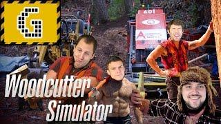 Favágás magasfokon balesetek nélkül, Woodcutter Simulator 2011 I Szimulálunk I GameGeek