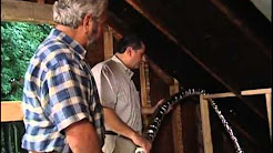 Installing High-Velocity, Flexible-Duct Air Conditioning in an Older Home