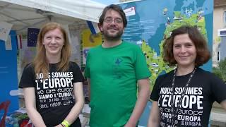 L'Europe en un mot...témoignages - Fête de l'Europe 2017 Besançon